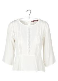 Sélection shopping Mademoiselle Miaouss, top blanc Comptoir des Cotonniers