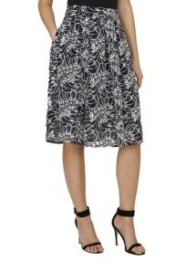 Jupe plissée imprimée de la marque Kookai, sélection shopping Mademoiselle Miaouss