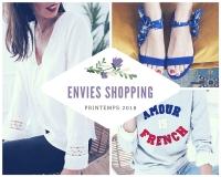 Sélection shopping pour le printemps 2018 de Mademoiselle Miaouss.