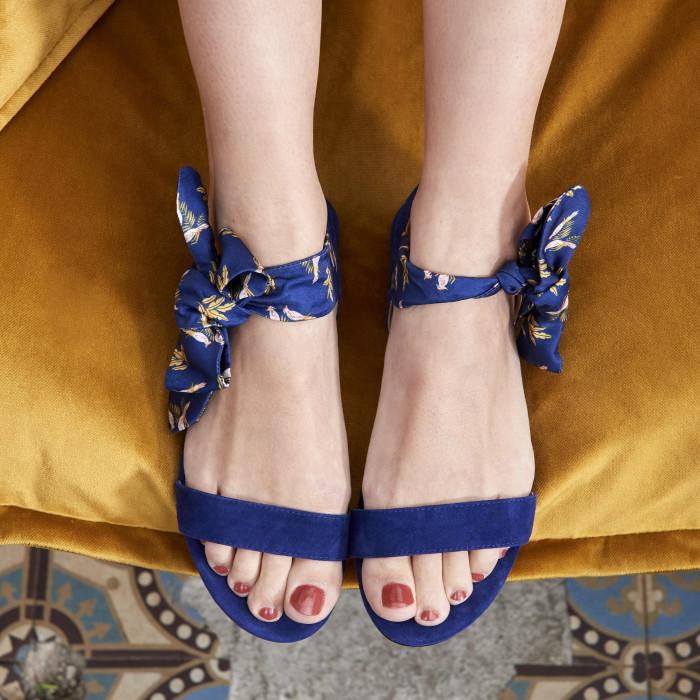 Sélection shopping mademoiselle miaouss, sandales bocage x season paper.